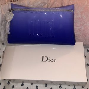 Dior beauty cosmetic bag